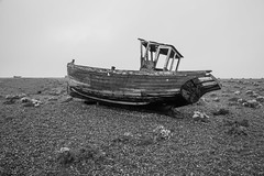 Abandoned boat, Dungeness