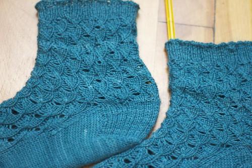 Shell Pattern Socks
