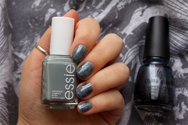 01 punk rock nails essie maximillian stresse her + china glaze kiss my glass