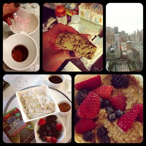 semi-homemade hotel breakfast
