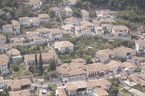 castle architecture unesco ottoman balkans albania worldheritage berat museumcity osumriver