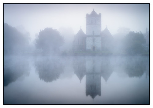 england mist church water weather thames river landscape unitedkingdom things marlow refelection photostyles wycombedistrict