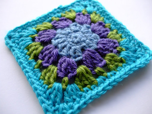 Nuthatch granny square