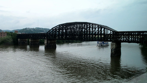 Fort Wayne Railroad Bridge by Coyoty