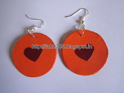 Handmade Jewelry - Paper Punch Earrings (11) by fah2305
