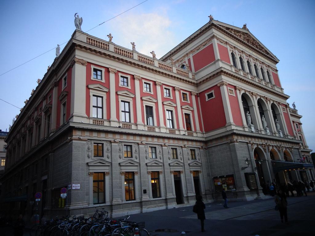 Wien 1 Bezirk Gesellschaft Der Musikfreunde Società Degli Amici