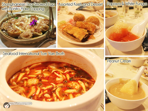 Seafood International Assorted Dishes