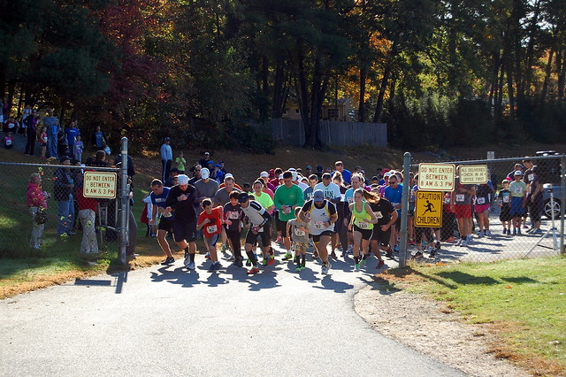 Ladybug 5K race start