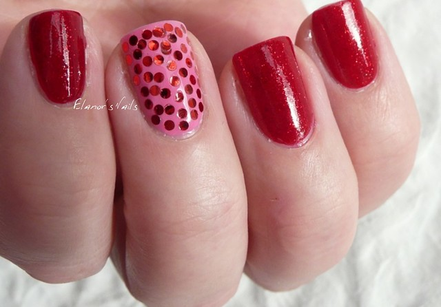 pink & red sequins 4
