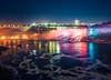 Niagara Falls at Night by Philipp Klinger Photography