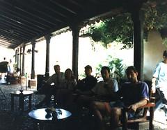 Cuba. Trinidad. Con Sandro, Antonello y Mauro, compañeros de v iaje