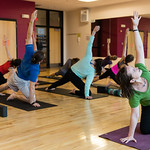 Fitness classes at The Mueller Center
