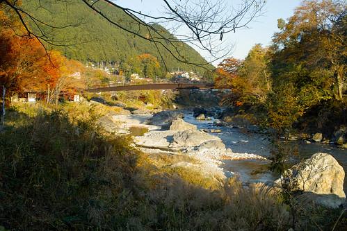 御岳渓谷 Mitake Valley 2013-11-24