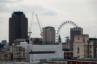 Vue sur Londres depuis la terrasse du One New Change