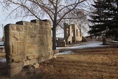 Hospital ruins East side of Calgary