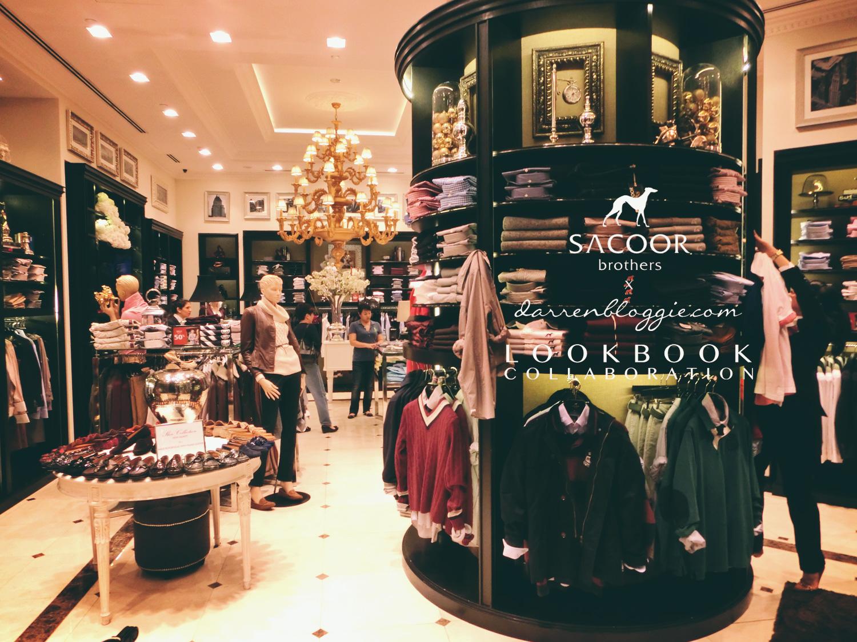 Sacoor Brothers x DarrenBloggie Lookbook Collaboration