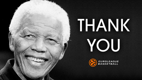 Euroleague pays tribute to Nelson Mandela