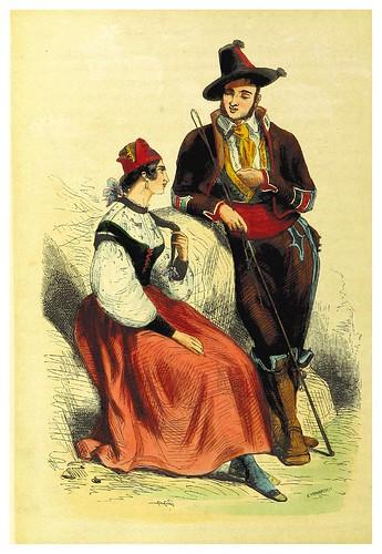 005-Doncella y cochero de Valladolid-La Spagna, opera storica, artistica, pittoresca e monumentale..1850-51- British Library