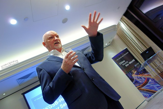 Sir Tom Hunter explaining about his views of China & why CKGSB Cheung Kong Graduate School of Business from RAW _DSC4914