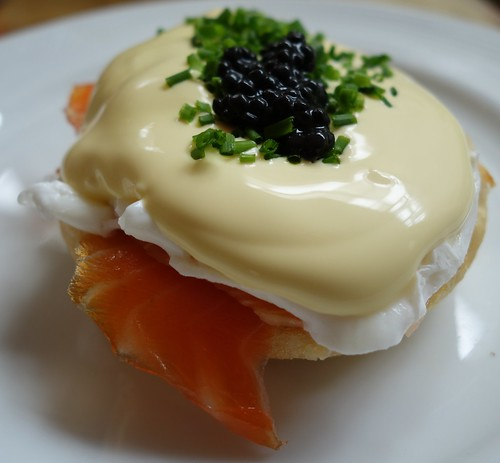 Eggs Benedict with Smoked Salmon & Caviar - The Art of Sundays Champagne Brunch at InterContinental Singapore