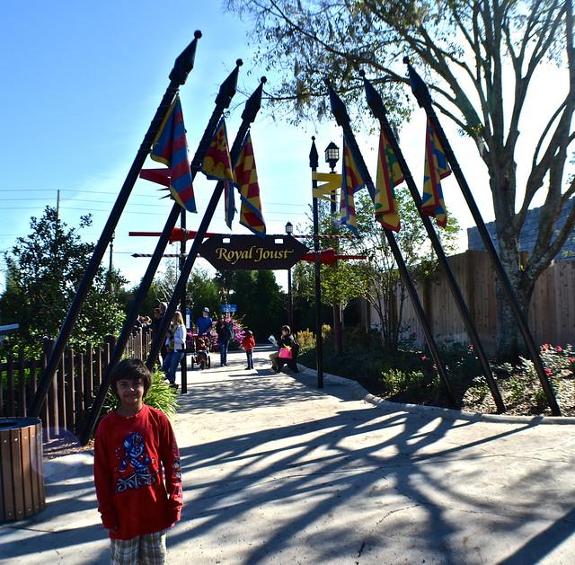 Legoland, Florida - Royal Joust Entrance