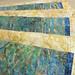 237_Navy Landscape Batik Gold Placemat_h