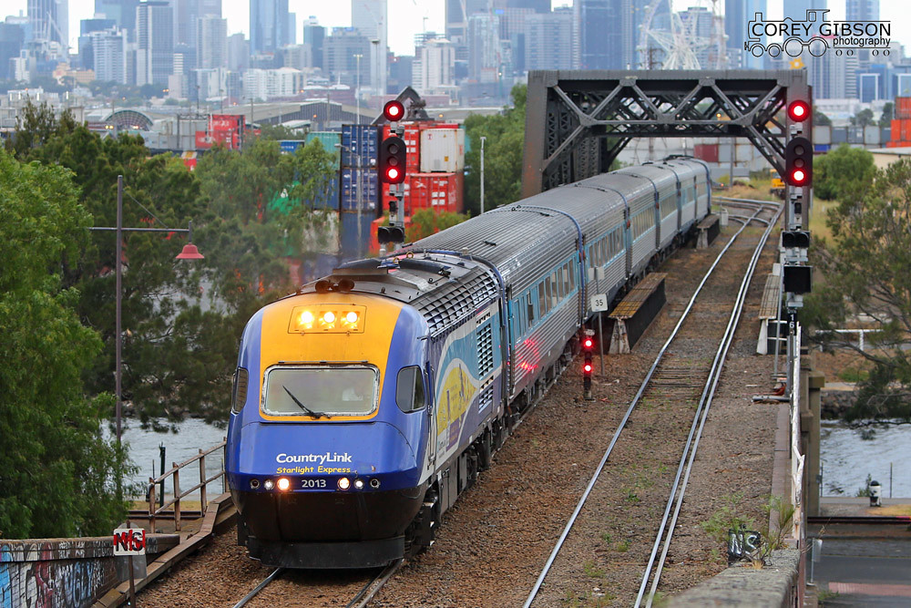 XPT departs Melbourne bound for Sydney by Corey Gibson