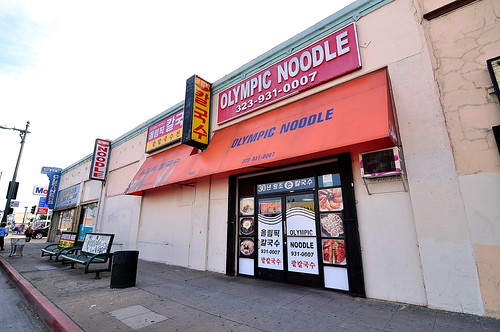 Olympic Noodle - Koreatown