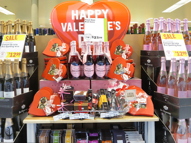 Whole Foods Valentines Display (2014)