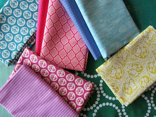 Flower Waltz fabrics