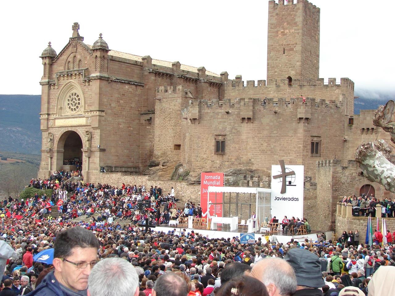 Javierada año 2011. Autor, Parroquia de Santa Engracia