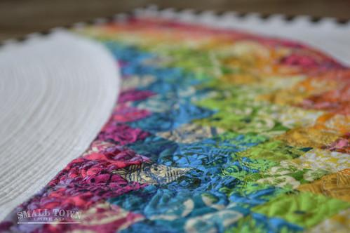 Rainbow Mini Quilt