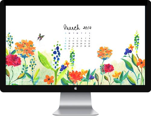 March 2014 Desktop Wallpaper