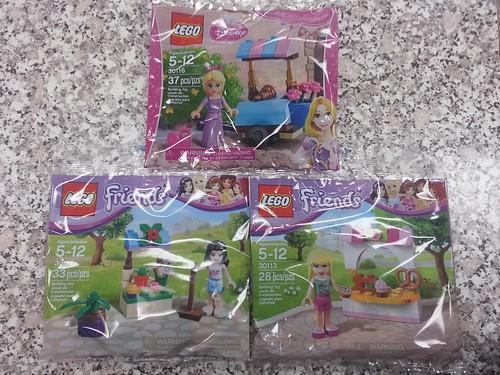 LEGO Friends & Disney Princess Polybags