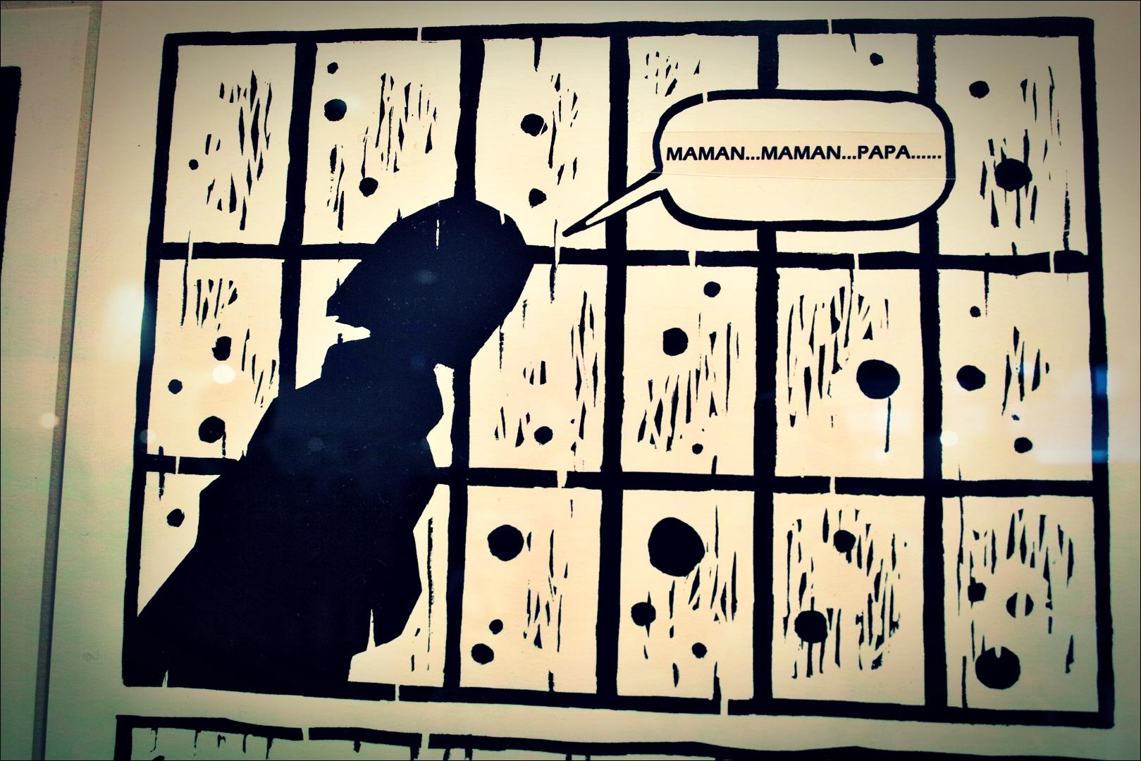Maman-'지지 않는 꽃 Cartoons of The Japanese Military Sexual Slavery'