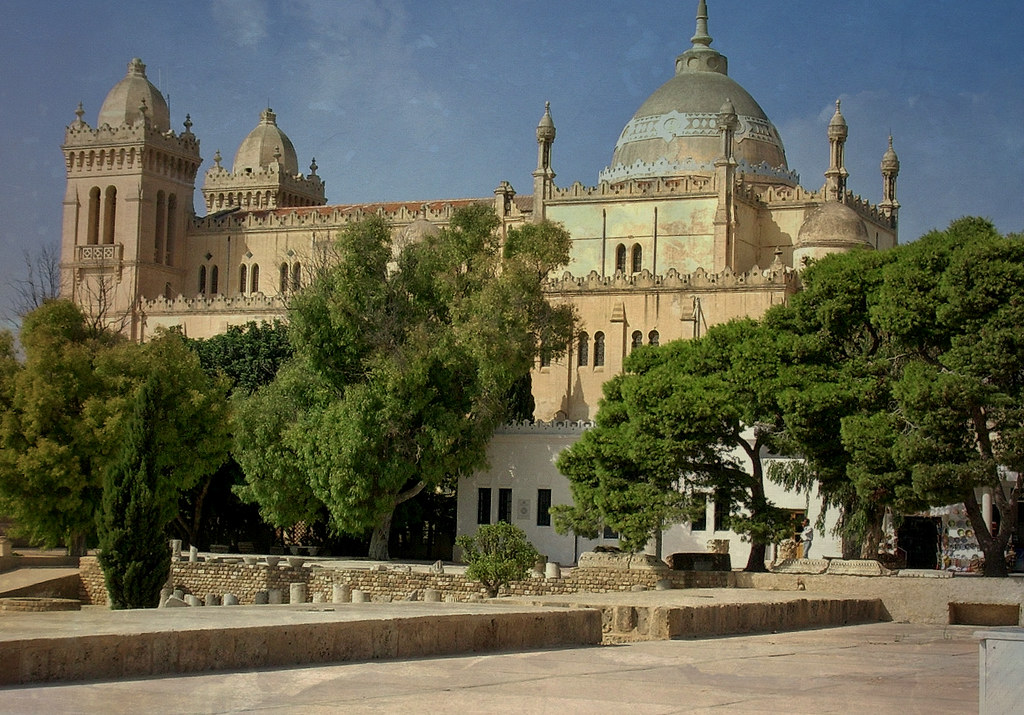 Tunesien - Karthago - die Basilika auf dem Byrsa-Hügel, 72005/2931