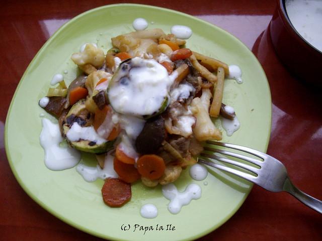 Legume cu sos de usturoi (5)