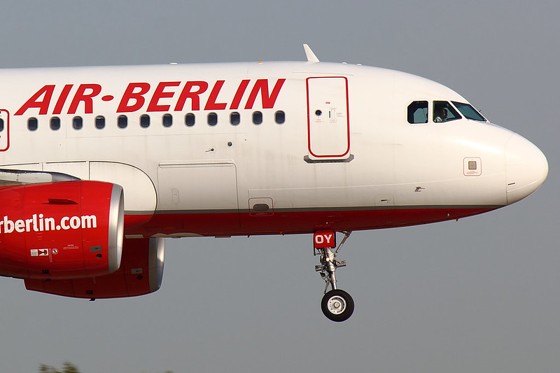 Air Berlin - A319 - HB-JOY