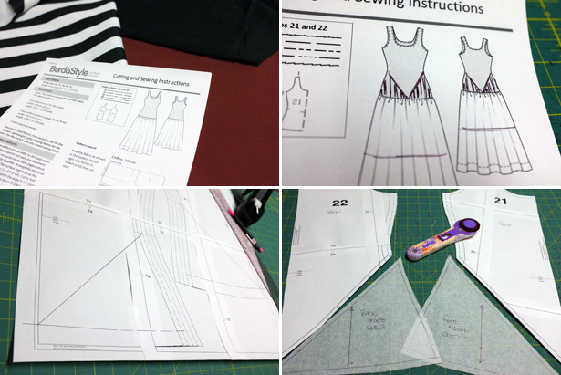 fabric and drafting