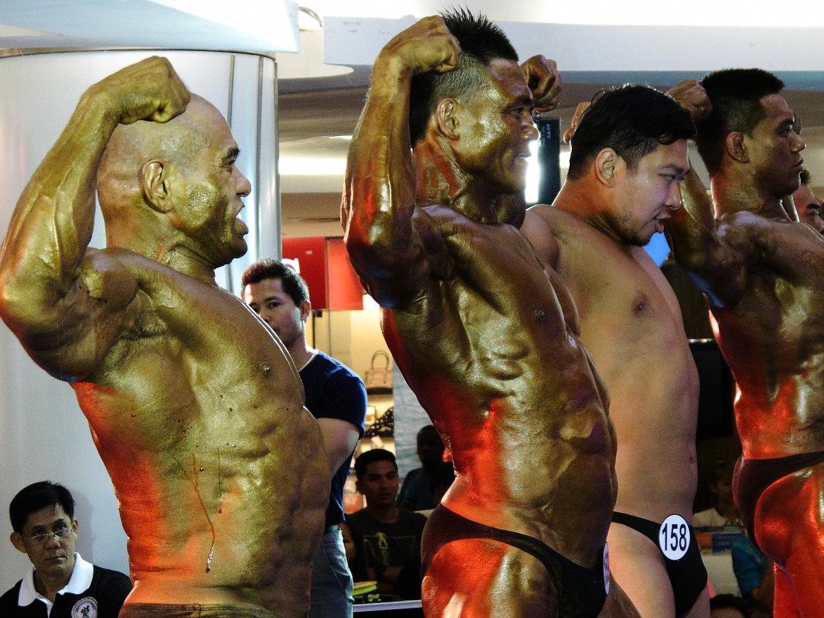 Thai musclemen