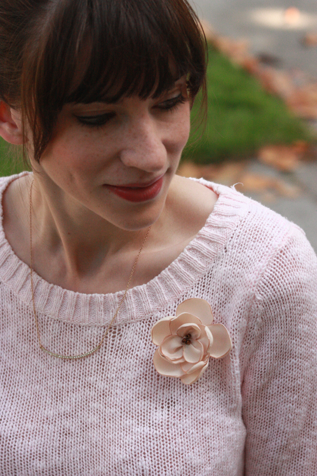 Pearl Blossom Boutique, floral pin, giveaway