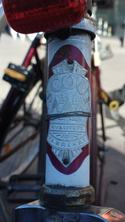 Scout Kvalitets Fabrikat (Sweden) bicycle head badge logo
