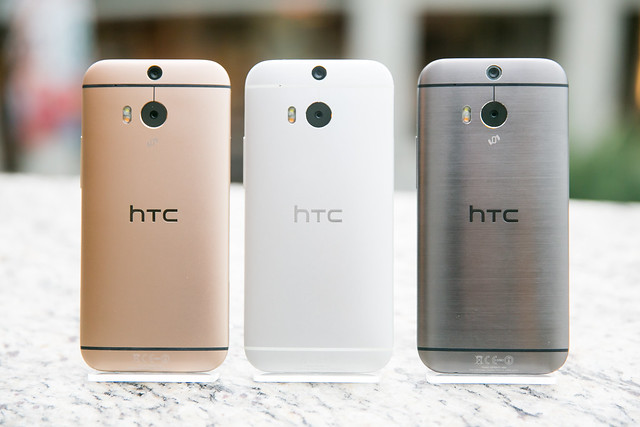 HTC One (M8) 金 / 銀 / 銀灰三色到齊! @3C 達人廖阿輝