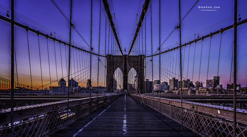 nyc newyorkcity skyline sunrise dawn downtown brooklynbridge lightroom cs6 nikfilter cswapanjha