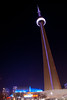 CN Tower and the Rogers Centre by Globalviewfinder