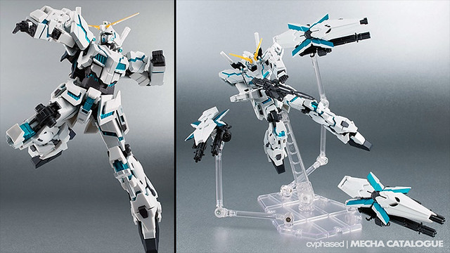 ROBOT Damashii Unicorn Gundam [Shield Funnel Equipment]