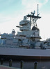 USS Wisconsin BB-64,  Superstructure by Ron Monroe