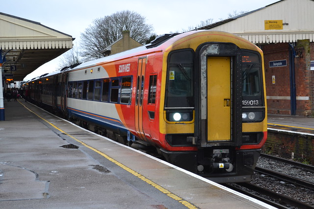 South West Trains Express Sprinter 159103