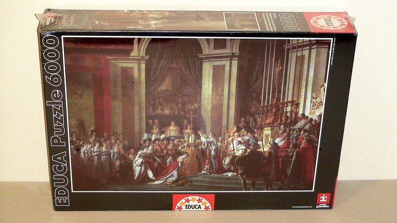 6.000 - Educa - The Consecration of the Emperor Napoleon
