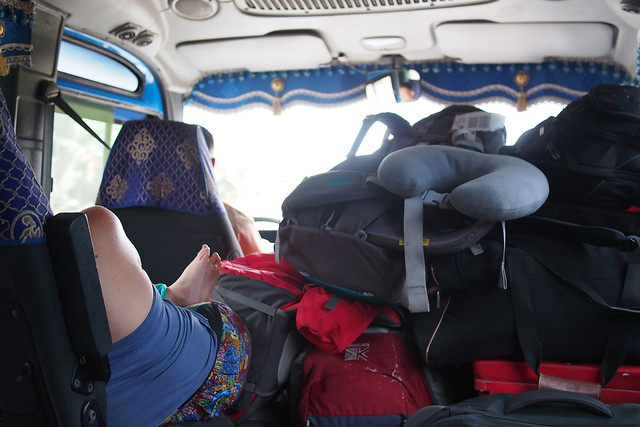 mini-bus from Siem Reap to Bangkok, Thailand